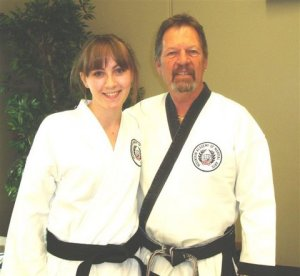 Juliana Rose Nicole with Grand Master Rankin, September 2009