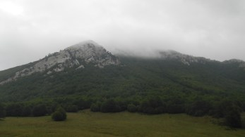 Mt. Pollino from Colle Gaudolino