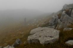 Somewhere on the summit plateau