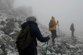 Close to the col