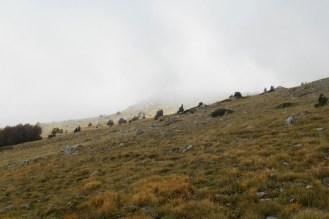 South slopes of Monte Pollino