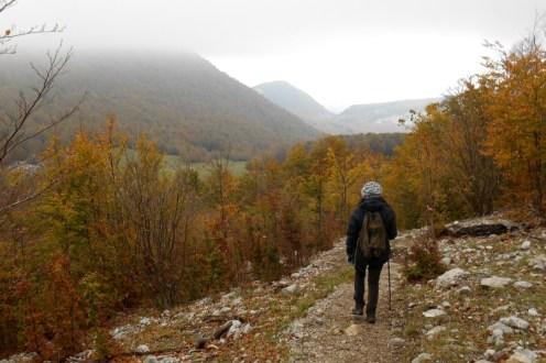 Towards 'Colle Gaudolino'