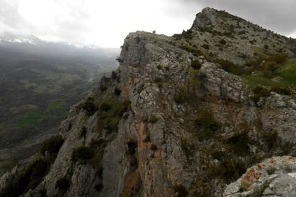 The cliffs of Sant'Anna
