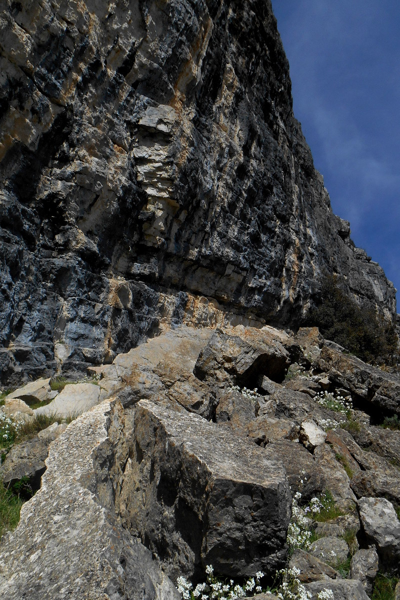 The summit wall