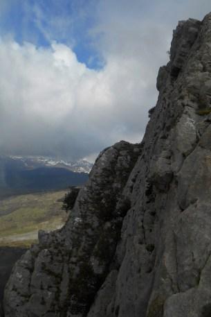 The drop (south ridge)