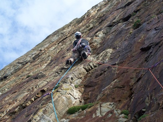 Rock Climbing - The Anarchist, Red Wall, Gogarth