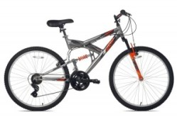 Northwoods Aluminum Full Suspension Bike