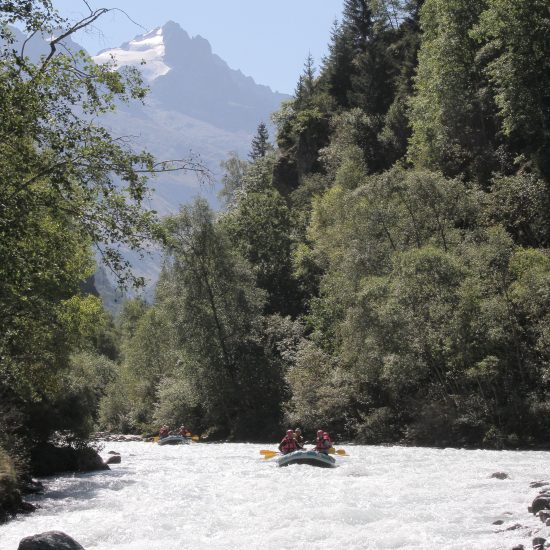 Rafts in Gorge