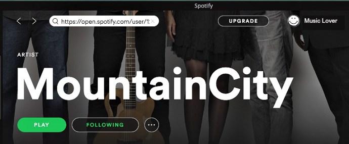 Stream MountainCity Music for free!