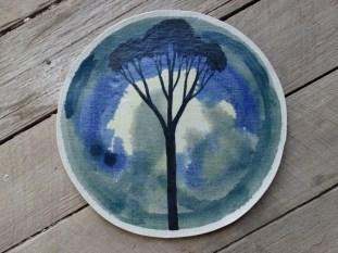 Tree plate 2014 Yvette De Lacy