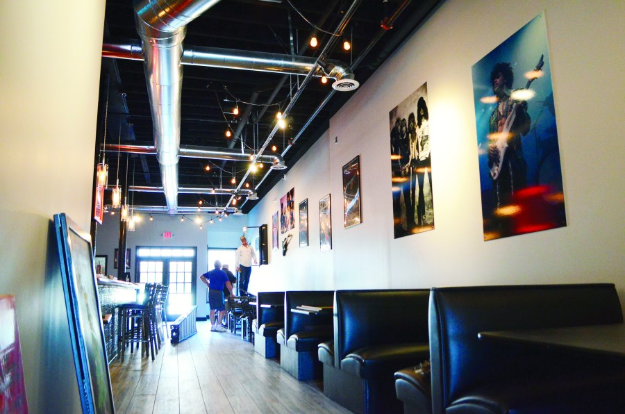 Rock N Roll Sushi opens Wednesday in downtown Jasper   Daily     The interior of Rock N Roll Sushi is decorated with photographs of rock  stars and other