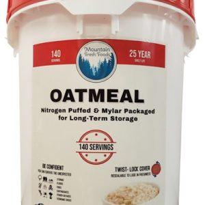 Mountain Fresh Foods 12 lbs Oatmeal