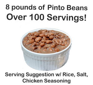 8 Pounds of Pinto Beans
