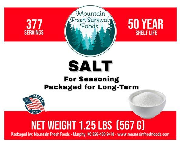 Salt 1.25 bs