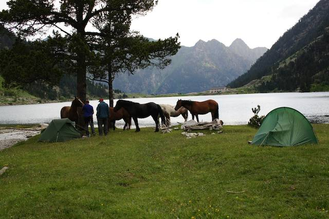 lac de gaube camping