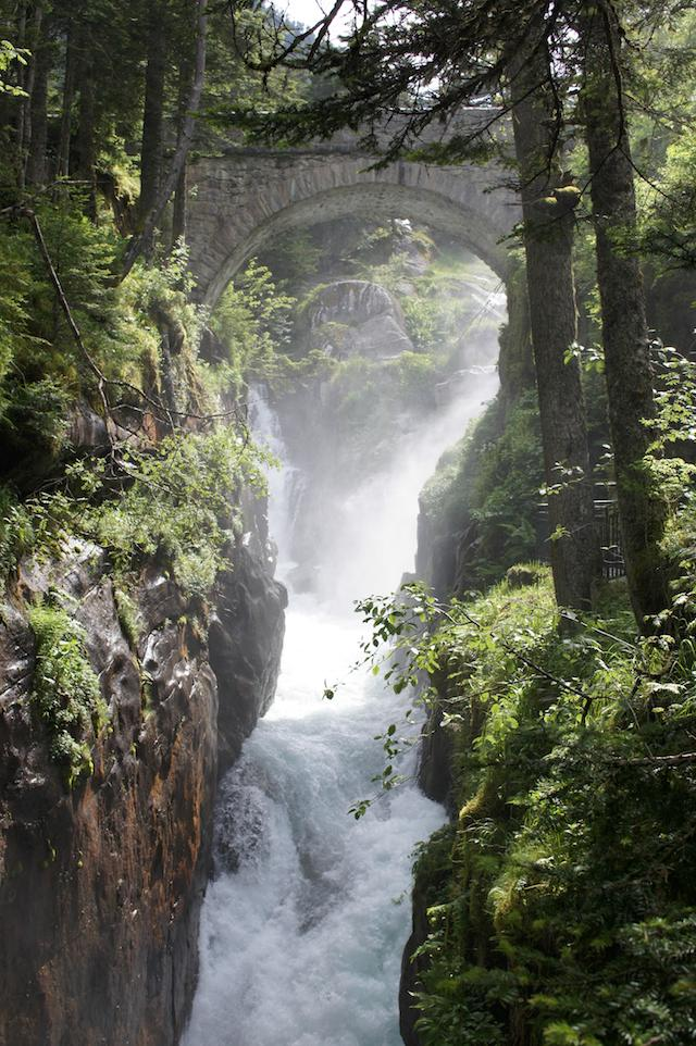 pont d'Espagne Pyrenees