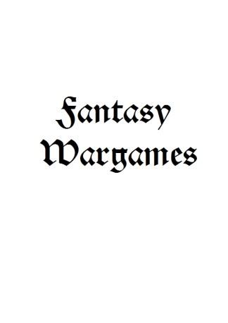 Fantasy Wargames