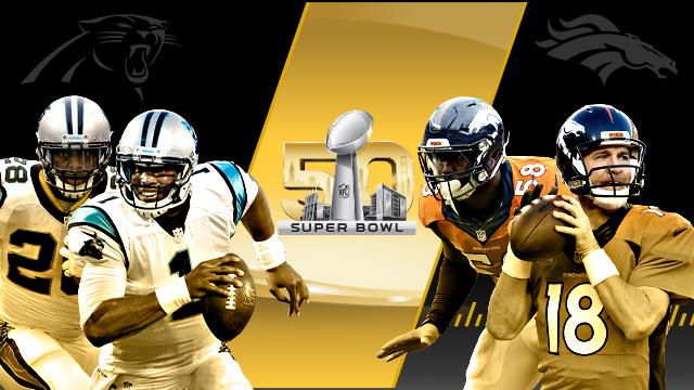 Broncos-Panthers To Battle In Super Bowl 50