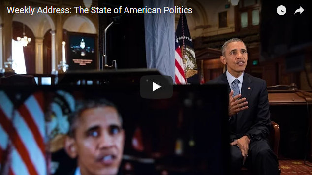 President Obama's Weekly Address: The State of American Politics