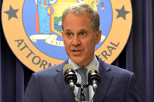 New York A.G. Schneiderman On $25 Million Settlement Agreement Reached In Trump University Case