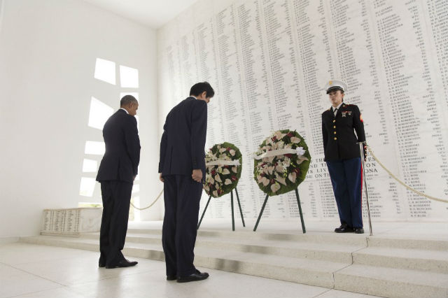 Remarks By President Obama & Prime Minister Abe Of Japan At Pearl Harbor