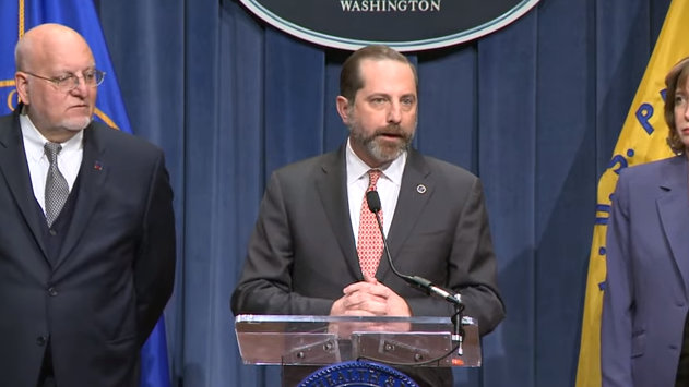 Coronavirus Update & Press Briefing from HHS