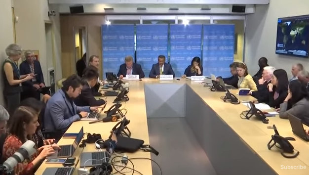 World Health Organization News Conference on Coronavirus Outbreak