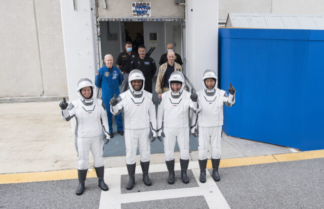 NASA Updates TV Coverage for First Crew Rotation Flight on US Commercial Spacecraft