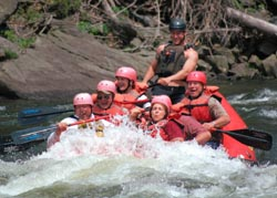 White Water Rafting Adventure Package
