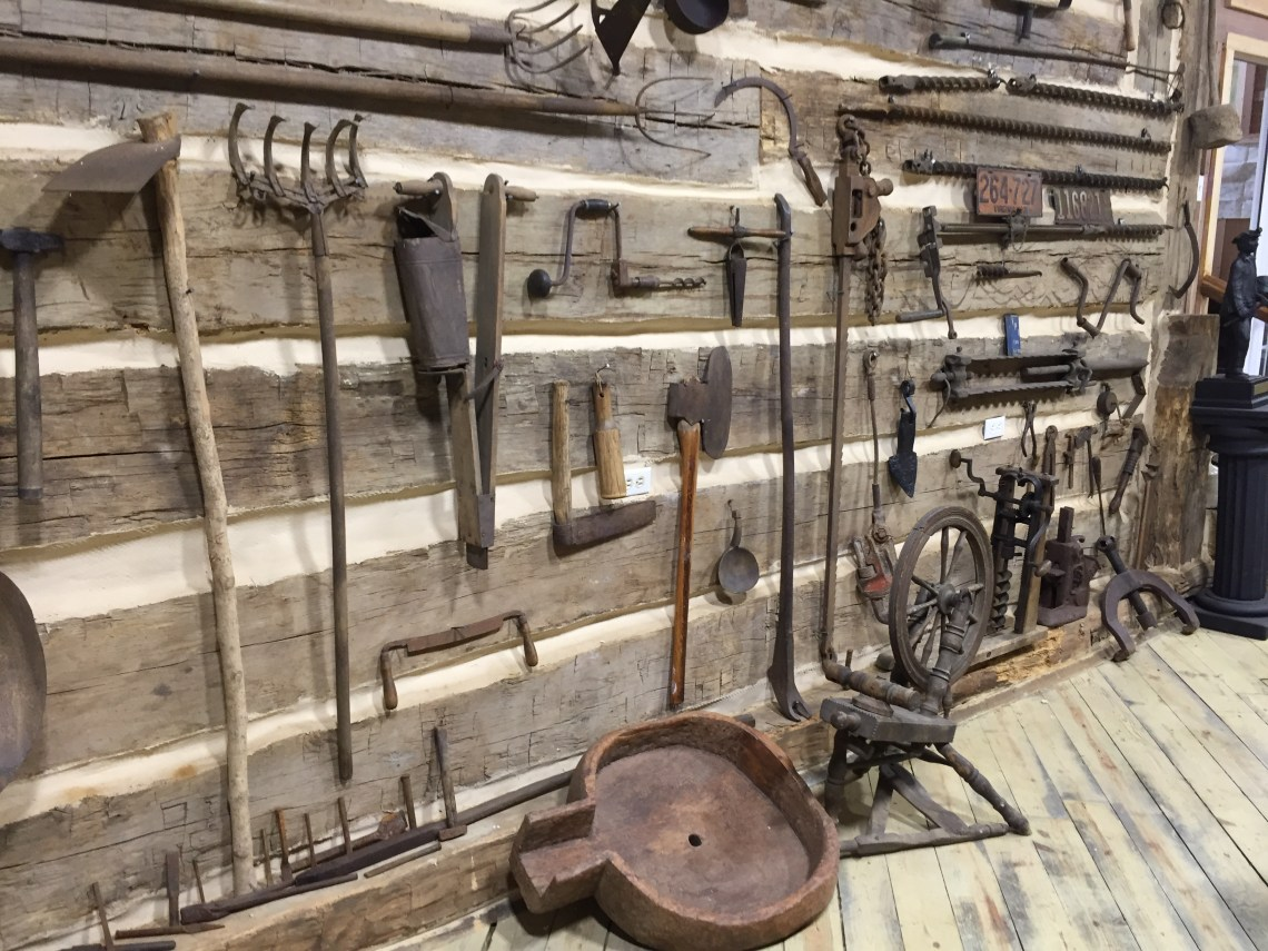 Antique Mining and Farming Tools
