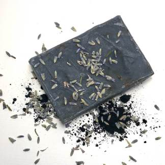 Charcoal & Lavender Buds Bar Soap