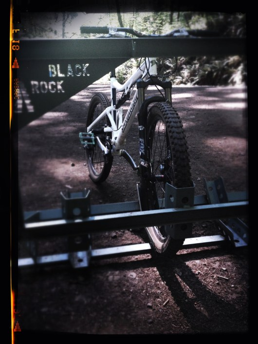 Santa Cruz Mountain Bike at Black Rock Bike Park
