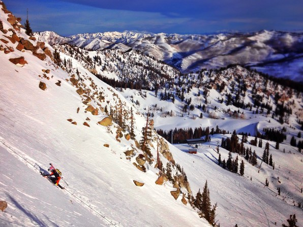 The Wasatch is an amazing place to race.