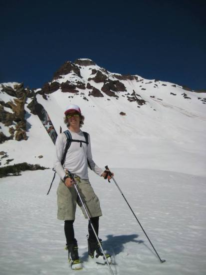 Tosch Roy in his playground-- the Oregon Cascades.