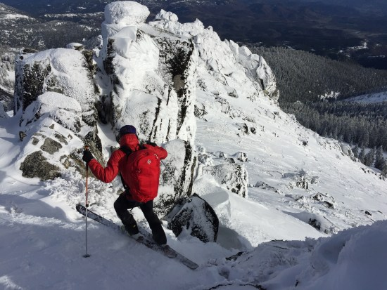 southern oregon backcountry ski mountaineering