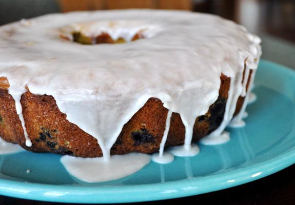 Blueberry-lemon-bundt-cake