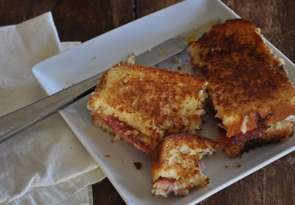 grilled-leftover-ham-sandwich-5