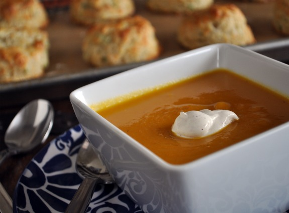 squash-soup-and-chive-biscuit-recipe-mountain-mama-cooks