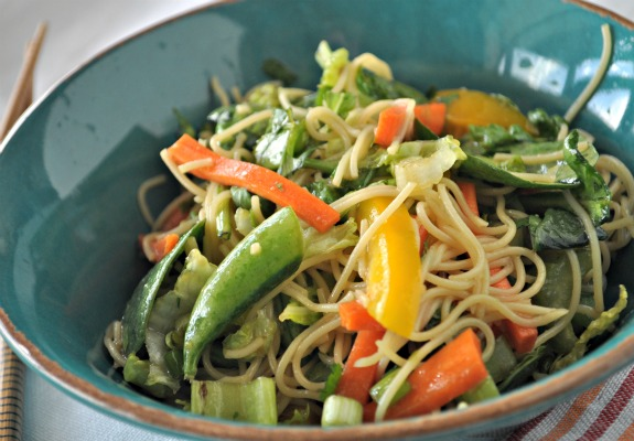 asian-greens-and-noodle-salad-mountainmamacooks
