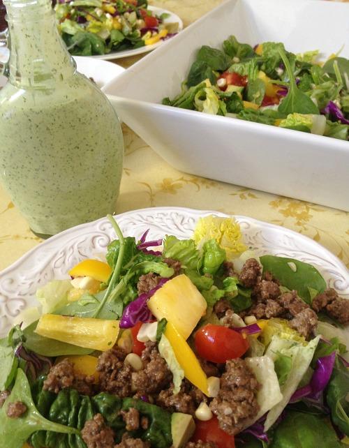 Easy Taco Salad  Mountain Mama Cooks