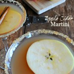 Apple Cider Martini Recipe - www.mountainmamacooks.com