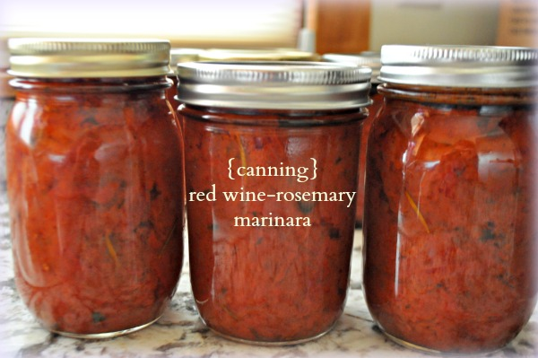 red-wine rosemary marinara, www.mountainmamacooks.com