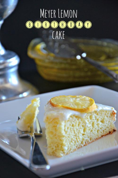 Awesome Meyer Lemon Cake With Greek Yogurt Mountain Mama Cooks Personalised Birthday Cards Beptaeletsinfo