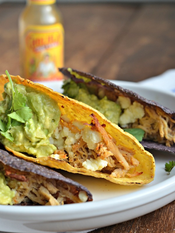weeknight chicken tacos recipe, www.mountainmamacooks.com