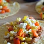 Summer Veggie Tacos, www.mountainmamacooks.com #glutenfree #vegetarian