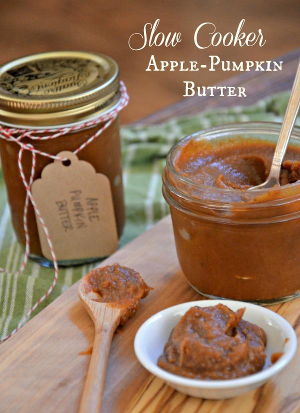 Slow Cooker Apple-Pumkin Recipe, www.mountainmamacooks.com