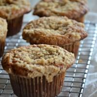 Banana Streusel Muffins | www.mountainmamacooks.com