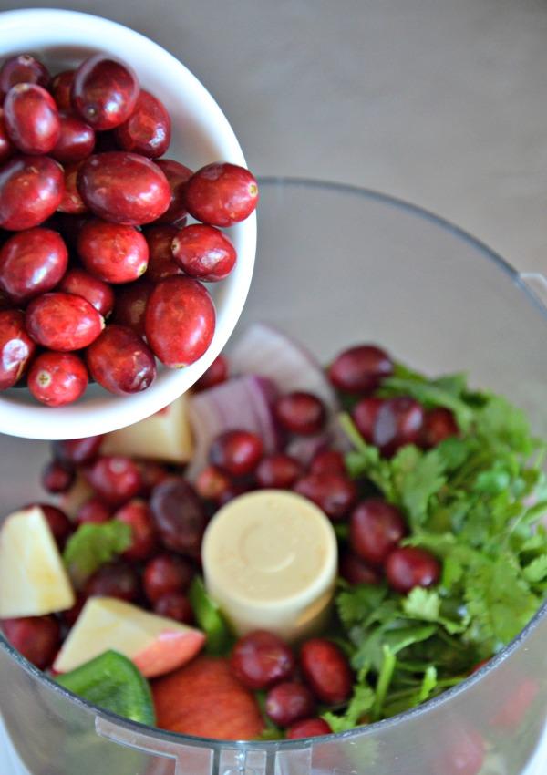 Cranberry Salsa | www.mountainmamacooks.com