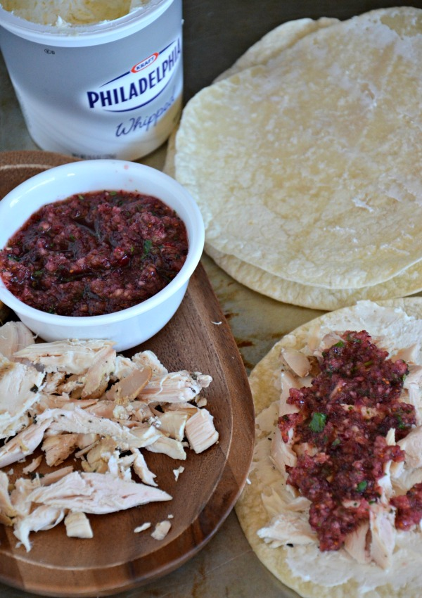 Turkey Tacos with Cranberry Salsa, www.mountainmamacooks.com