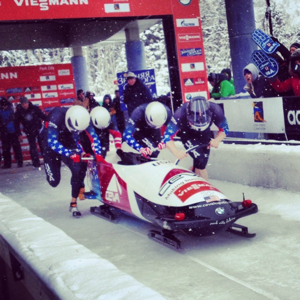 Team 1 bobsled, USA